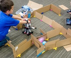 Robot Mazes