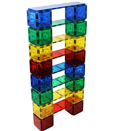 Magnetic Stick and Stack Tall Structure