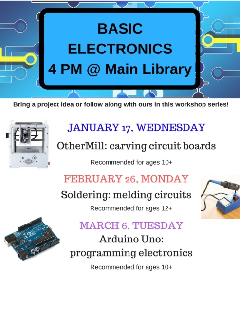 Basic Electronics Workshop Flyer