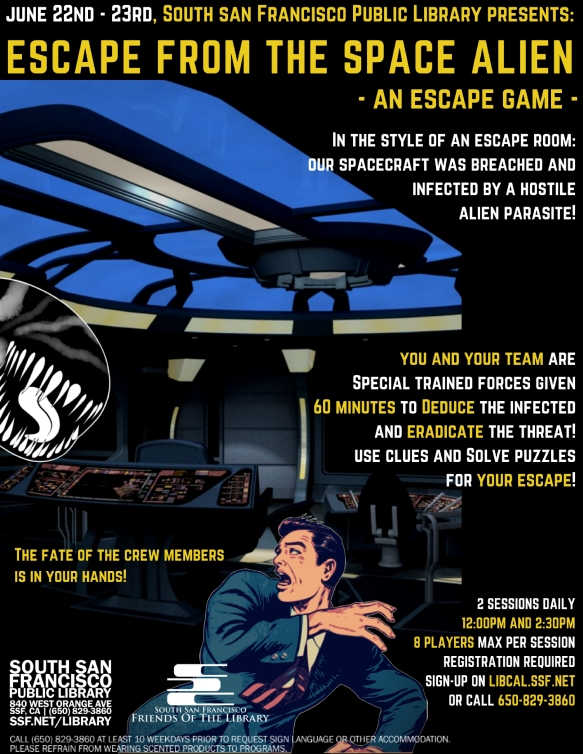 Escape from the Space Alien June 2018